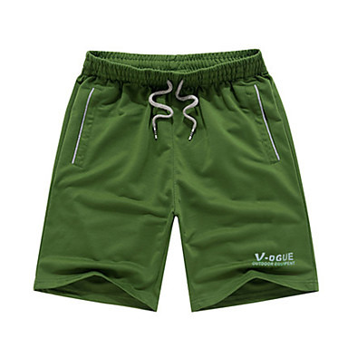 Men's Running Shorts Casual/Daily Shorts for Running/Jogging Exercise & Fitness Polyester L XL XXXL XXL-XXXL