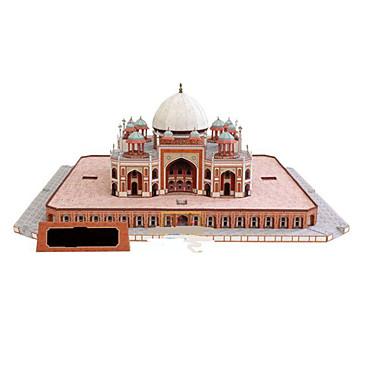 3D Puzzles Paper Model Paper Craft Model Building Kit Castle Famous buildings Horse Architecture 3D DIY Classic Unisex Gift