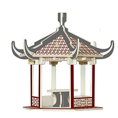 3D-puslespill Puslespill Tremodeller Modellsett Kjent bygning Møbel Hus Arkitektur 3D simulering GDS Tre Klassisk Unisex Gave