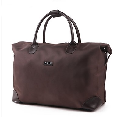 Unisex Bags Oxford Cloth Travel Bag for Casual Outdoor All Seasons Black Brown