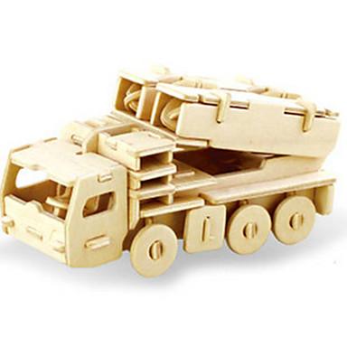 3D-puslespill Puslespill Tremodeller Dinosaur Tank Luftkraft Stridsvogn 3D GDS Tre Klassisk Unisex Gave