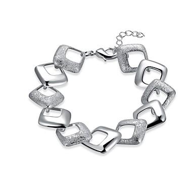 Women's Chain Bracelet / Charm Bracelet - Silver Plated Friends Vintage, Bohemian, Natural Bracelet Silver For Christmas / Party / Special Occasion