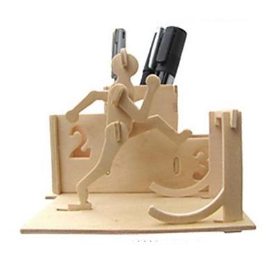 Quebra-Cabeças 3D Quebra-Cabeça Brinquedos de Montar Outra 3D Faça Você Mesmo Madeira Natural Clássico Unisexo Dom