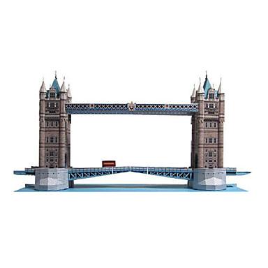 Quebra-Cabeças 3D Maquetes de Papel Artesanato de Papel Brinquedos de Montar Torre Construções Famosas Arquitetura 3D Faça Você Mesmo