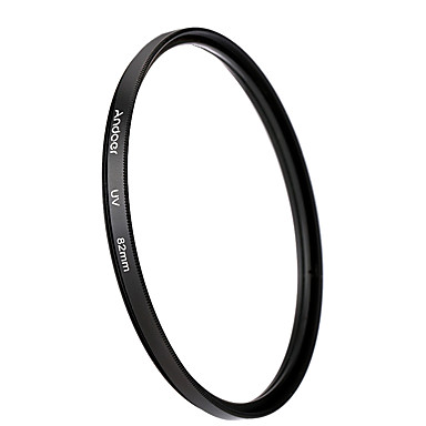 Andoer 82mm UV CPL FLD Circular Filter Kit Circular Polarizer Filter Fluorescent Filter with Bag for Nikon Canon Pentax Sony DSLR Camera