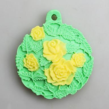 Ferramentas bakeware Silicone Dia de Ação de Graças Ano Novo Aniversário para Candy Moldes de bolos