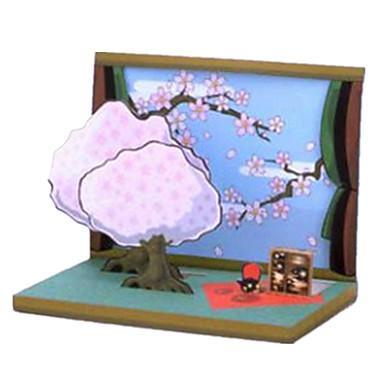 3D Puzzles Paper Craft Rectangular 3D Furnishing Articles DIY Unisex Gift