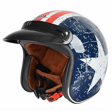BLD 181  Motorcycle Helmet Electric Car Fashion Helmet Men And Women Four Seasons General Helmet Korean Retro Motorcycle Half Helmet
