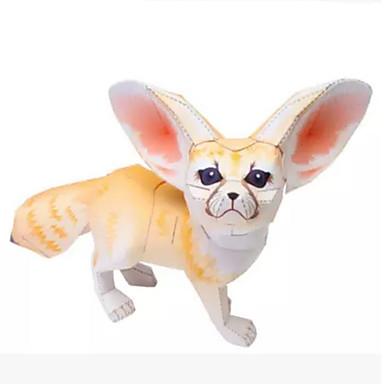 Quebra-Cabeças 3D Maquetes de Papel Artesanato de Papel Brinquedos de Montar Animais Simulação Faça Você Mesmo Cartão de Papel Duro