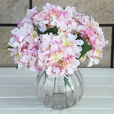 1 Gren Silke Hortensiaer Bordblomst Kunstige blomster
