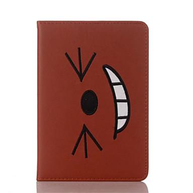 Capinha Para Apple iPad Mini 4 iPad Mini 3/2/1 iPad 4/3/2 iPad Air 2 iPad Air Com Suporte Flip Estampada Capa Proteção Completa Desenho