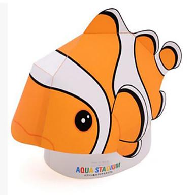 voordelige 3D-puzzels-3D-puzzels Bouwplaat Modelbouwsets Vissen Clown Zeedier Dieren DHZ Hard Kaart Paper Klassiek Kinderen Unisex Speeltjes Geschenk