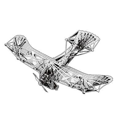 3D-puslespill Puslespill Metallpuslespill Modellsett Luftkraft 3D Møbler artikler GDS Chrome Metall Klassisk Barne Voksne Jente Gutt