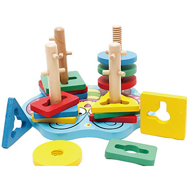 Blocos de Construir Borboleta Legal Crianças Brinquedos Dom