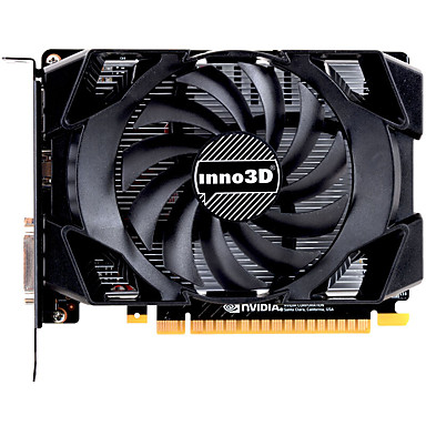 INNO3D Video Graphics Card GTX1050 1455MHz/7000MHz2GB/128 bit GDDR5