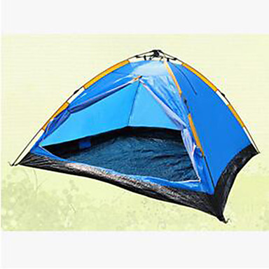 3-4 persons Tent Single Camping Tent Fold Tent Keep Warm for Padded Fabric Stretch Satin CM