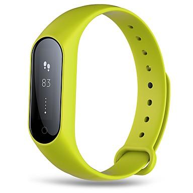 Pulseira inteligente HHY2Plus for iOS / Android Tela de toque / Monitor de Batimento Cardíaco / Impermeável Monitor de Sono / Relogio Despertador / Aviso de Chamada / 64MB / Calorias Queimadas