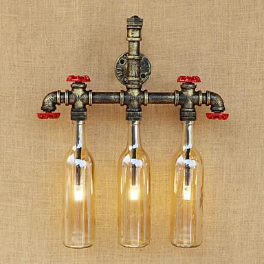 LED / Vintage / Regional Luminárias de parede Metal Luz de parede 220-240V 3W
