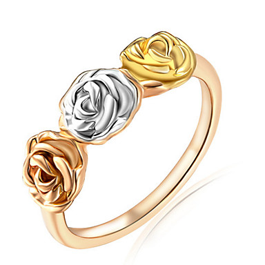 Women's Ring Settings Ring Band Ring Personalized Floral Luxury Unique Design Classic Basic Sexy Friendship British USA Movie Jewelry
