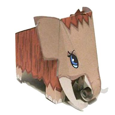 Quebra-Cabeças 3D Maquetes de Papel Artesanato de Papel Brinquedos de Montar Animais Faça Você Mesmo Clássico Desenho Crianças Unisexo Dom