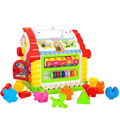 HUILE TOYS Blocos de Construir Acessório para Casa de Boneca Ábaco Jogos de Madeira Brinquedos Matemáticos Brinquedo Educativo Legal