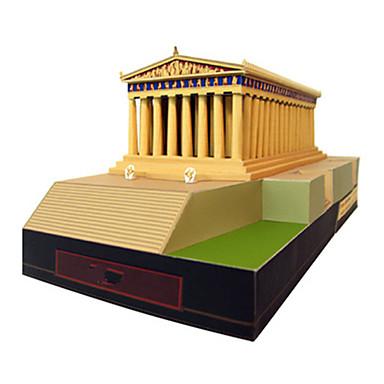 Quebra-Cabeças 3D Maquetes de Papel Quadrada Construções Famosas Arquitetura Faça Você Mesmo Cartão de Papel Duro Unisexo Dom