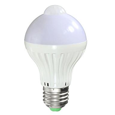 1pc 7 W 700 lm B22 / E26 / E27 LED Smart Bulbs A60(A19) 14 LED Beads SMD 5730 Sensor / Infrared Sensor / Light Control Warm White / Cold White 85-265 V / 1 pc / RoHS