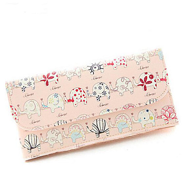 Women Bags All Seasons PU Coin Purse with for Casual Outdoor Black Blushing Pink