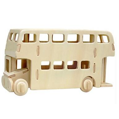 Robotime 3D építőjátékok Fejtörő Wood Model Busz Oroszlán DIY Fa Gyermek Uniszex Ajándék