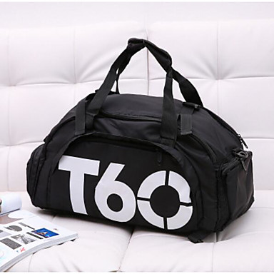 Unisex Travel Bag Oxford Cloth Polyester All Seasons Casual Outdoor Round Zipper Blue Black Red