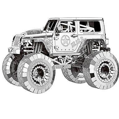 3D Puzzles Metal Puzzles Model Building Kit Tank 3D Furnishing Articles Chrome Metal Unisex Gift