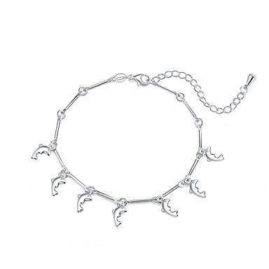 Women's Silver Plated Charm Bracelet - Fashion Animal Silver Bracelet For Dailywear