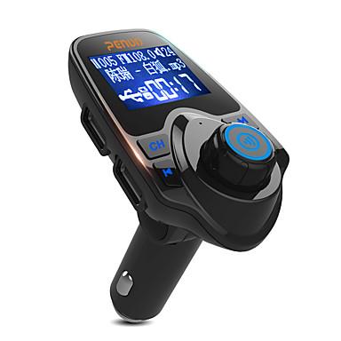 T11 V3.0 Bluetooth-autosarjat auton handsfree äänensäätö LED valot MP3-soitin USB Portti Auto
