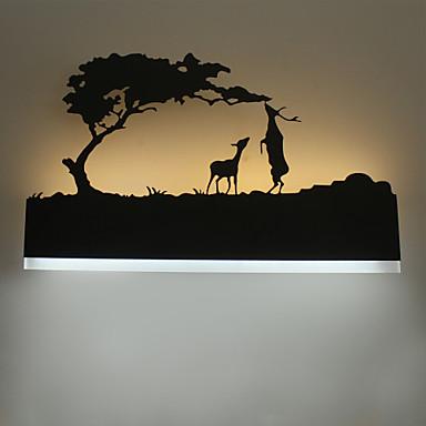 LED Luminárias de parede Metal Luz de parede 110-120V / 220-240V 16W