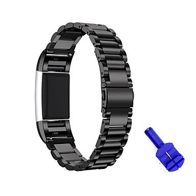 Nézd Band mert Fitbit Charge 2 FitBit Sportszíj Rozsdamentes acél Csuklópánt