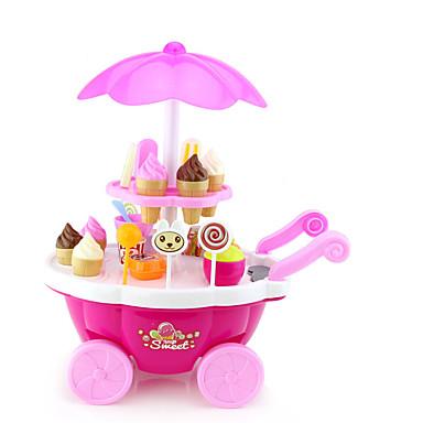 Brinquedo de gelado Carros de Brinquedo Comida de Brinquedo Brinquedos de Faz de Conta Navio Sorvete Simulação Plásticos Plástico Para