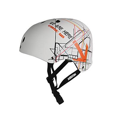 Skate Helmet Adults' Helmet CE Certification Other Others for Skateboarding White