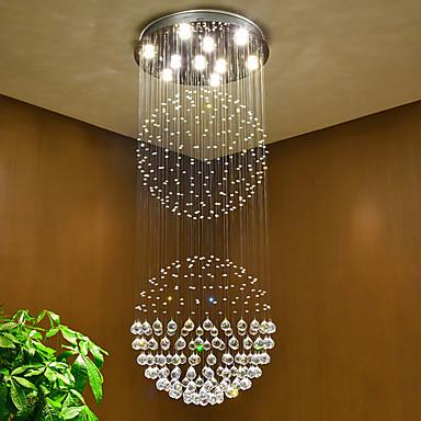 Chic & Modern Chandelier Downlight - Crystal / Bulb Included, 110-120V / 220-240V Bulb Included