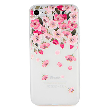 Case For Apple iPhone 7 / iPhone 7 Plus Embossed / Pattern Back Cover Flower Soft TPU for iPhone 7 Plus / iPhone 7 / iPhone 6s Plus