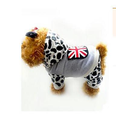 Koira Takit Koiran vaatteet Rento/arki Leopardi Leopardi Asu Lemmikit
