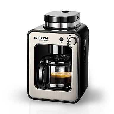 Kaffemaskin Helautomatisk Kvern Sundhetspleie Oppreist design Reservasjonsfunksjon 220V