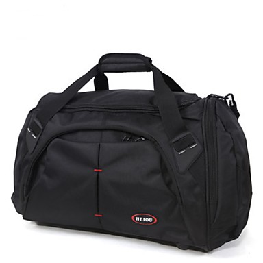 Unisex Bags All Seasons Oxford Cloth Travel Bag for Casual Outdoor Black