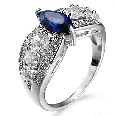 Women's Ring Settings Ring Band Ring Cubic Zirconia Rhinestone Personalized Luxury Geometric Circular Unique Design Classic Rhinestone