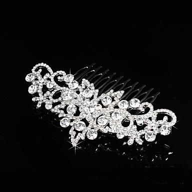 Alloy Hair Combs with 1 Wedding / Special Occasion / Party / Evening Headpiece