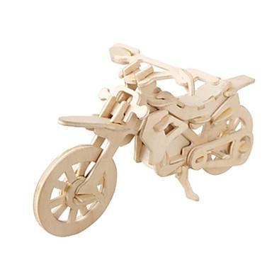 preiswerte 3D - Puzzle-3D - Puzzle Holzpuzzle Holzmodelle Flugzeug Moto Berühmte Gebäude Heimwerken Hölzern Kartonpapier Klassisch SUV Kinder Erwachsene Unisex Jungen Mädchen Spielzeuge Geschenk