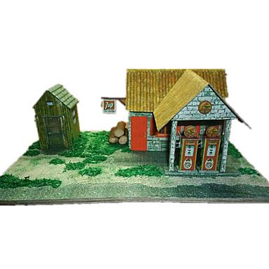 3D Puzzles Paper Model Paper Craft Model Building Kit Famous buildings Architecture 3D Simulation DIY Classic Unisex Gift