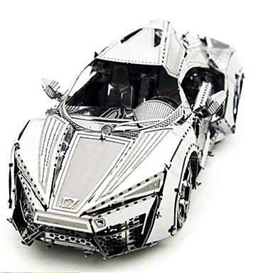 voordelige 3D-puzzels-3D-puzzels Legpuzzel Metalen puzzels Tank Metallic Aluminium Kinderen Unisex Jongens Speeltjes Geschenk