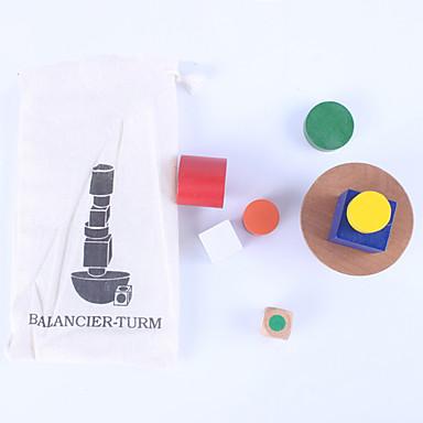 Blocos de Construir Blocos Lógicos Brinquedo Educativo Equilíbrio Clássico Crianças Brinquedos Dom