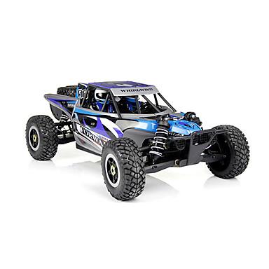RC Car WL Toys A929 2,4G Maasturi 4WD Korkea nopeus Drift Car Kilpa-auto Off Road Car Maastoauto 1: 8 Harjaton sähköinen 80 KM / H