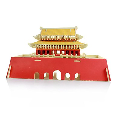 Model Building Kit Chinese Architecture Wooden Kid's Adults' Unisex Gift